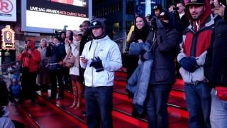 Petició de casament a Times Square